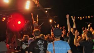 Die Konzertbesucher*innen wie auch die Bands waren vom diesjährigen Frierock begeistert.