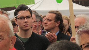 """Steffen Königer (Landtagsabgeordneter der AfD Brandenburg, Bildmitte) beim christlich-fundamentalistischen """"Marsch für das Leben"""" am 20. September 2014 in Berlin"""