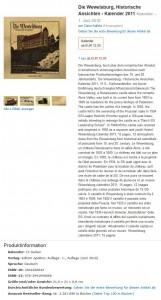 Wewelsburg-Kalender aus dem Verlag von Andreas Kalbitz (Screenshot Amazon.com)
