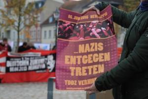 2014.11.08 Wittstock_Dosse Neonazikundgebung und Protest (3)