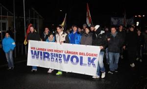 2014.12.17 Oranienburg Fackelmarsch und Proteste (10)