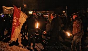 2014.12.17 Oranienburg Fackelmarsch und Proteste (23)