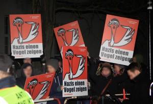 2014.12.17 Oranienburg Fackelmarsch und Proteste (5)