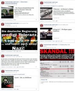 """Postings bei """"Frankfurt/Oder wehrt sich"""""""