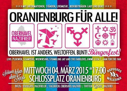 Flyer zum Bürgerfest