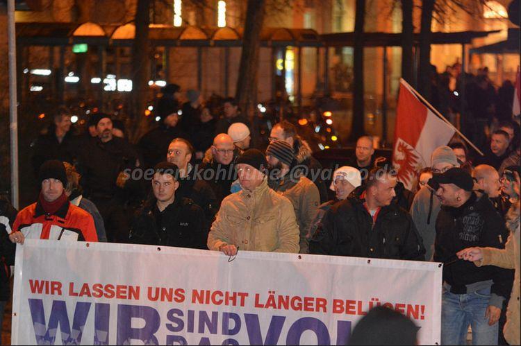 Demonstration in Oranienburg am 25. November. Bild: Sören Kohlhuber
