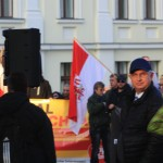 Applaudierte der rassitischen Hetze: Detlev Frye, Pressesprecher der Brandenburger AfD