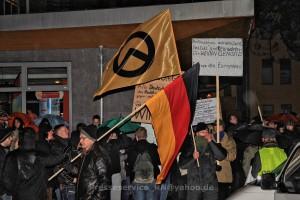 """BraMM-Demo am 26. Januar 2015 in Brandenburg an der Havel: Auch die """"Identitäre Bewegung"""" beteiligt sich"""