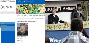 """Bürgerlicher Frontmann: Christoph Berndt, Vorsitzender von """"Zukunft Heimat"""" arbeitet in der Charite Berlin"""