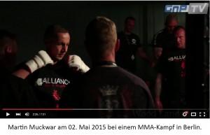 Martin Muckwar als MMA-Kampfsportler