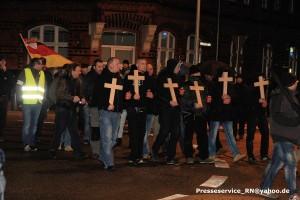 Patrick Danz mit Gedenkaktion für Horst Wesseln am 23. Februar 2016 in Rathenow