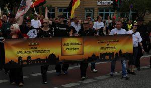 Kurze Demonstrationsroute: Einmal um die Ecke und zurück zum Luisenplatz.