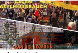 """Wenig Unterstützung für """"Patrioten Cottbus""""; (Screenshot)"""