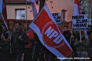 """""""Nein zum Heim""""-Aufmarsch am 16. April 2015 in Nauen: …wurden die Proteste politisch gesteuert oder handelten hier Einzelne?"""