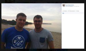 So präsentiert sich Jean-Pascal Hohm bei Facebook (Screenshot)