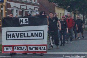 """Mini-Aufmarsch des """"N.S Havelland"""""""