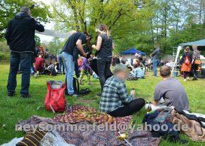 """Gut besuchtes """"Fest der Solidarität"""" im Strombad Cottbus."""
