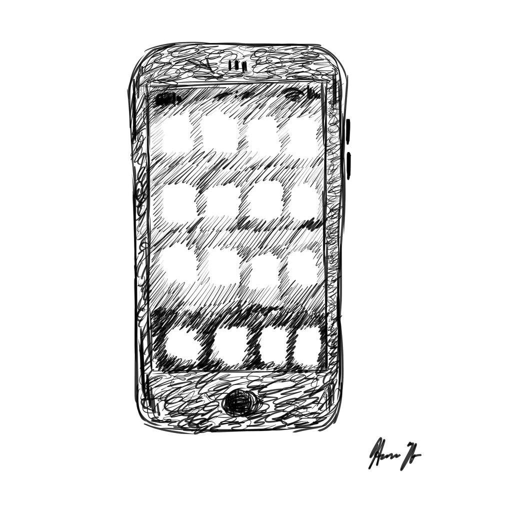 silisiertes Smartphone